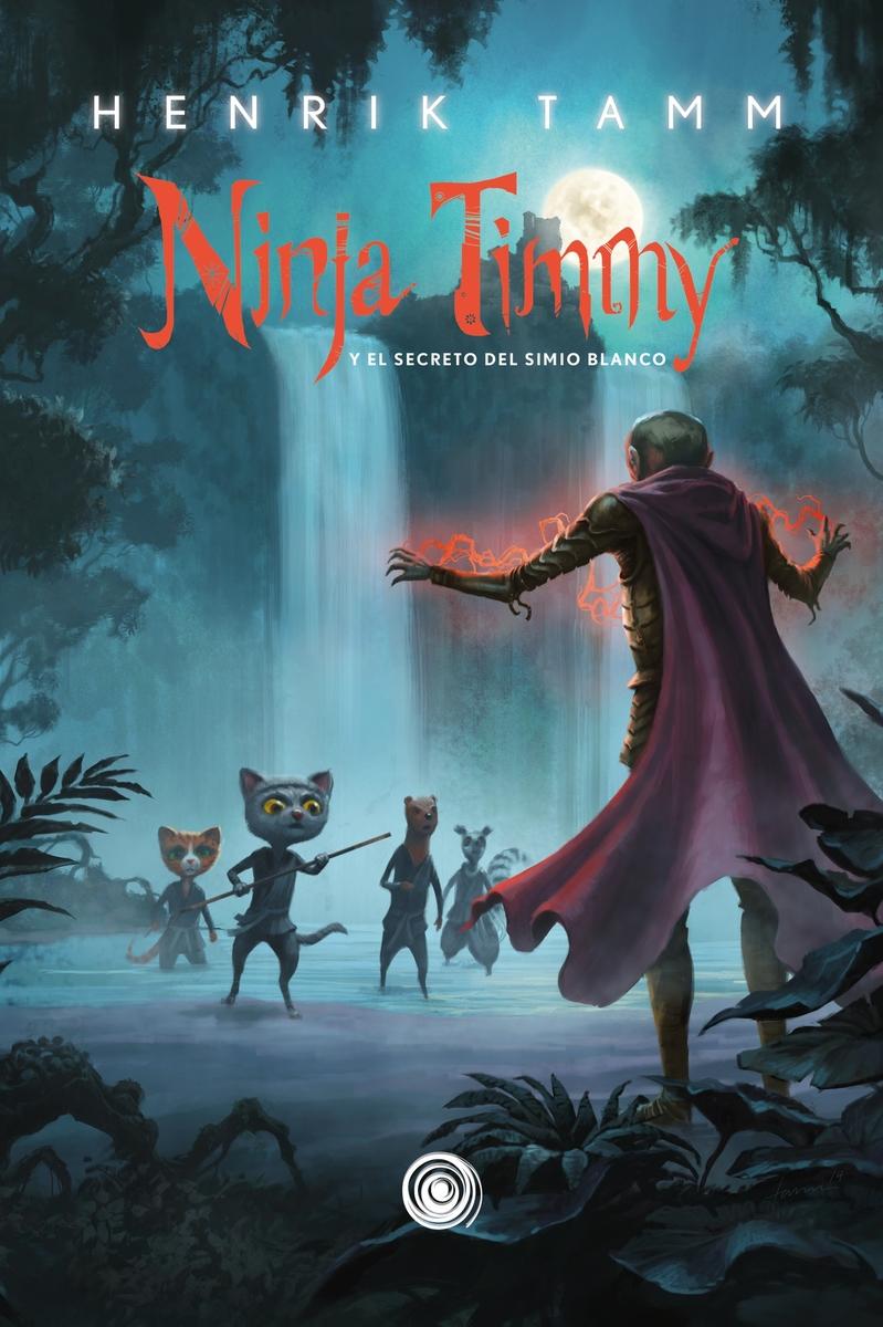 Ninja Timmy, 3. Y el secreto del simio blanco.: portada