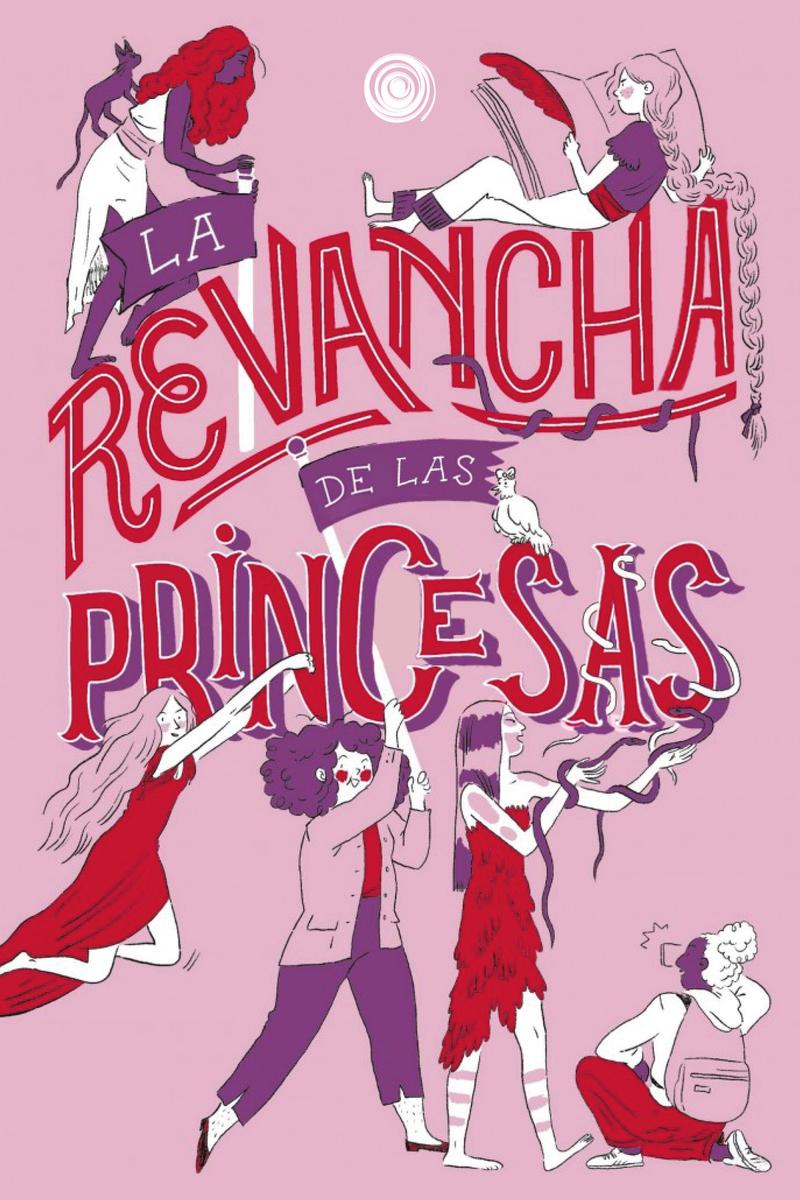 La revancha de las princesas: portada