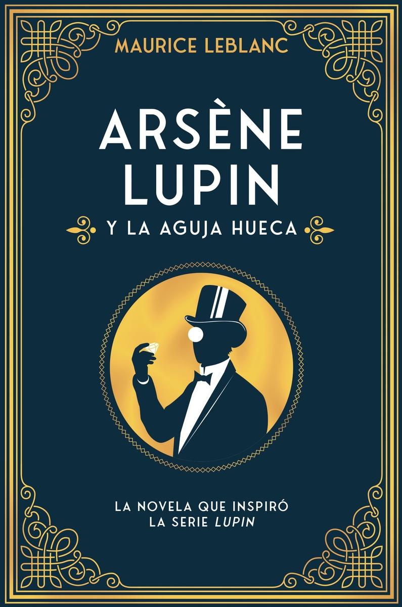 Arsène Lupin y la aguja hueca: portada