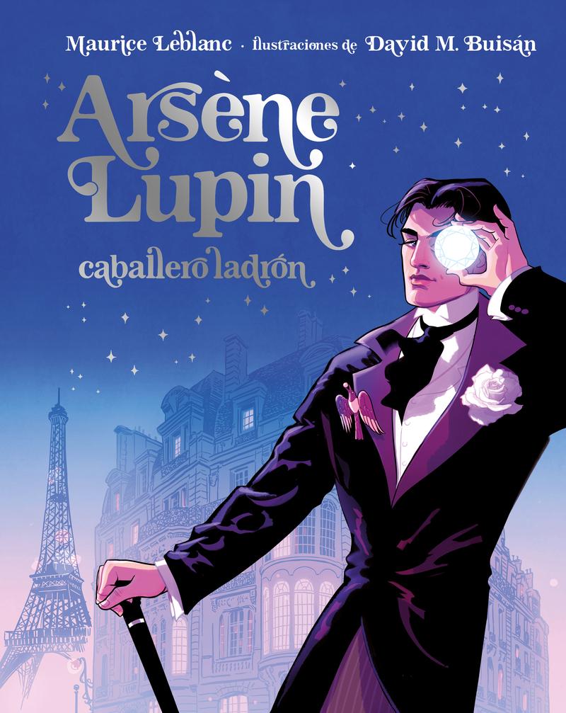 Arsène Lupin, Caballero Ladrón. Edición Ilustrada: portada