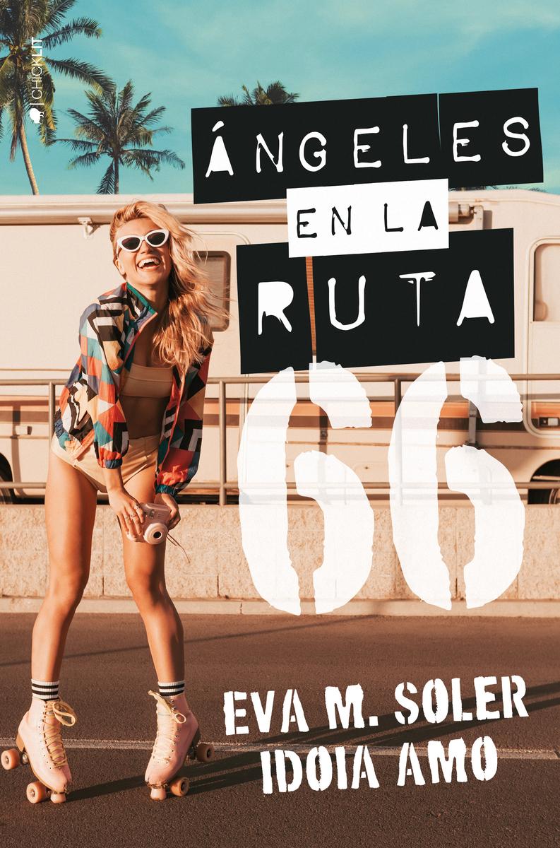 ÁNGELES EN LA RUTA 66: portada