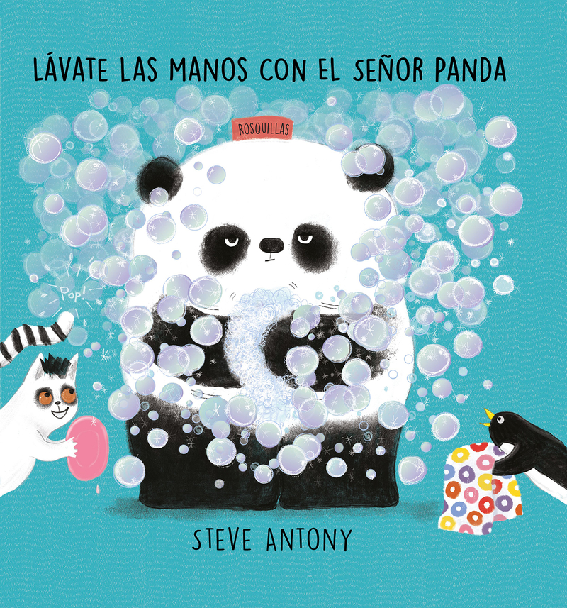 Lávate las manos con el señor Panda: portada