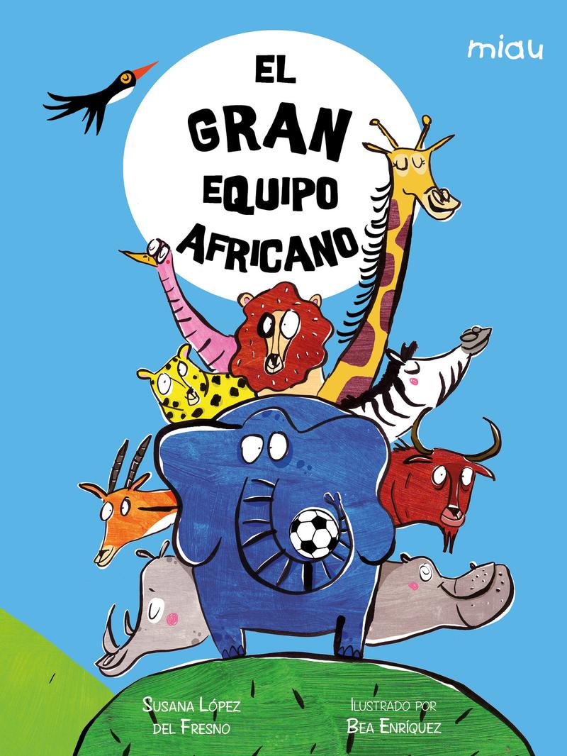 El gran equipo africano: portada