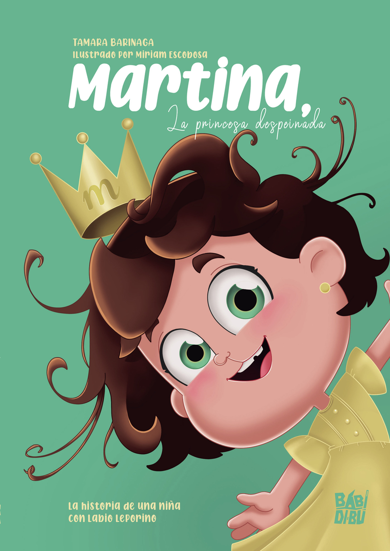 Martina, la princesa despeinada: portada