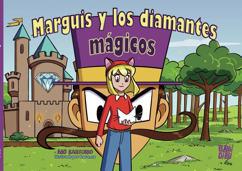 Marguis y los diamantes mágicos: portada
