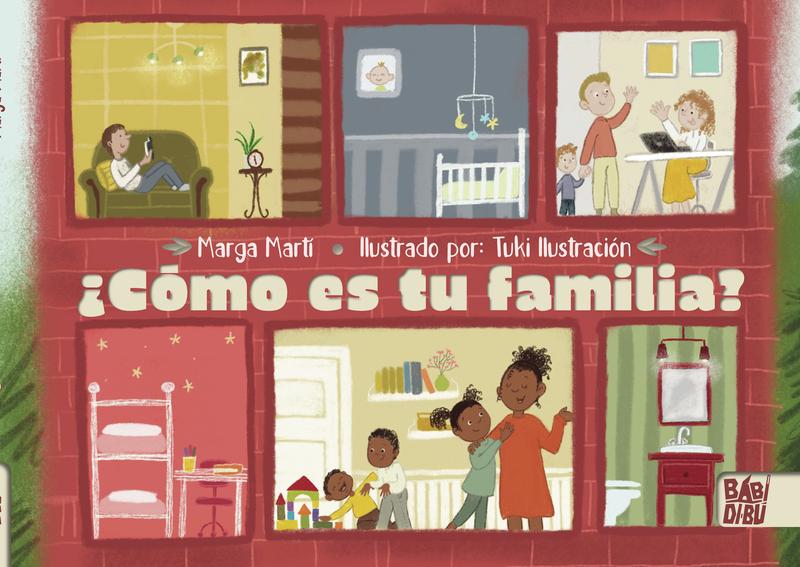 ¿Cómo es tu familia?: portada