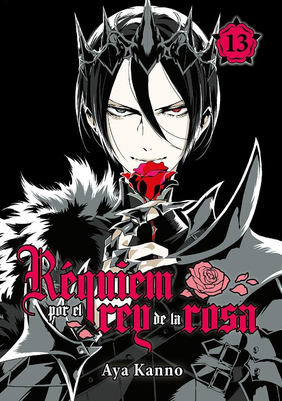 Réquiem por el rey de la rosa, vol. 13: portada