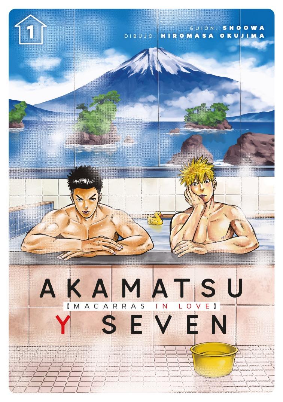 Akamatsu y Seven, macarras in love, vol. 1: portada