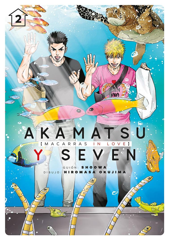 Akamatsu y Seven, macarras in love, vol. 2: portada
