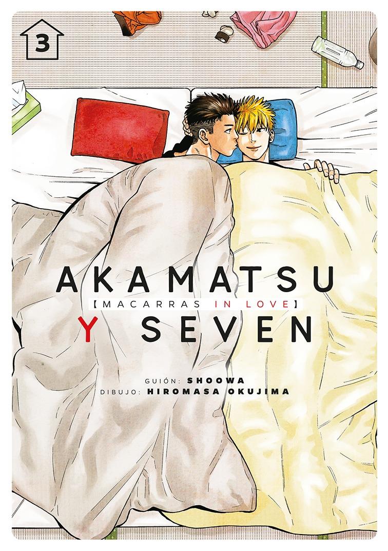 Akamatsu y Seven, macarras in love, vol. 3: portada