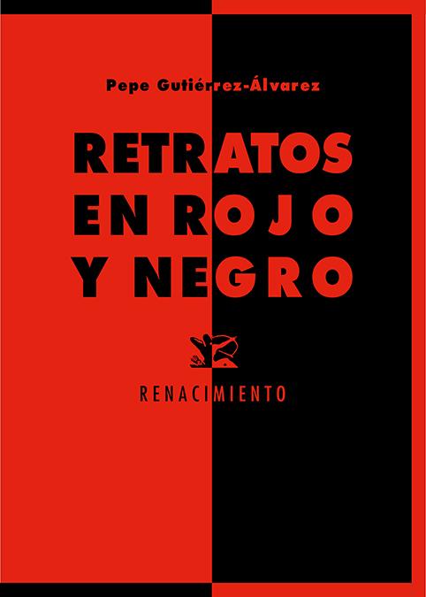 Retratos en rojo y negro: portada