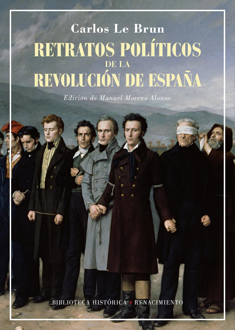 Retratos políticos de la revolución de España: portada