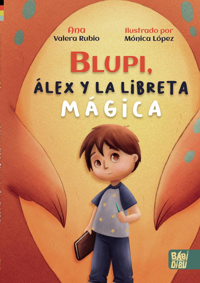 Blupi, Álex y la libreta mágica: portada