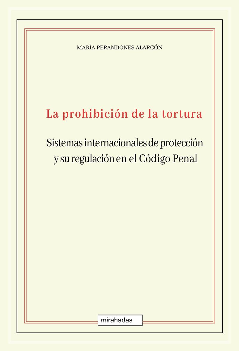 La prohibición de la tortura: portada