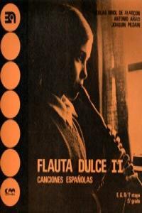 FLAUTA DULCE II CANCIONES ESPAñOLAS: portada