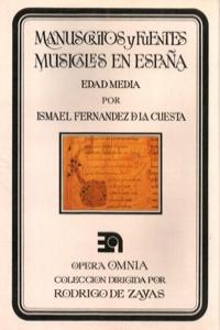 MANUSCRITOS Y FUENTES MUSICALES EN ESPAñA - EDAD MEDIA: portada