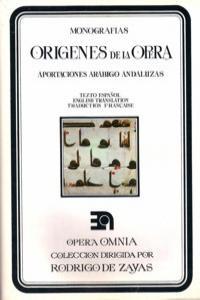 ORIGENES DE LA OPERA: portada