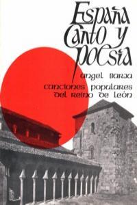 ESPAñA CANTO Y POESIA: portada