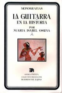 GUITARRA EN LA HISTORIA,LA: portada