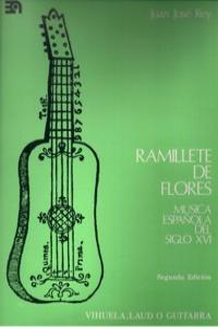 RAMILLETE DE FLORES - MUSICA ESPAñOLA DEL S.XVI: portada