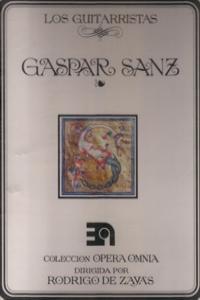 GASPAR SANZ - LOS GUITARRISTAS: portada