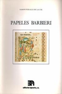 PAPELES BARBIERI: portada