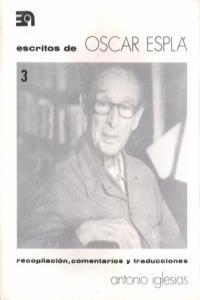 ESCRITOS DE OSCAR ESPLA III: portada