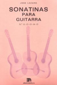 SONATINAS PARA GUITARRA NUMS. 11 A 15: portada