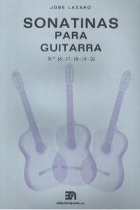 SONATINAS PARA GUITARRA NUMS. 16 A 20: portada