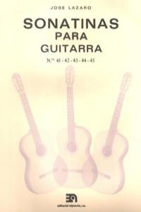 SONATINAS PARA GUITARRA NUMS. 41 A 45: portada
