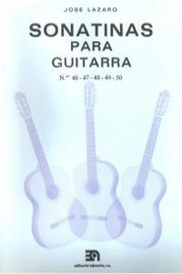 SONATINAS PARA GUITARRA NUMS. 46 A 50: portada