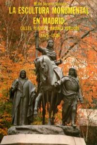 ESCULTURA MONUMENTAL EN MADRID,LA: portada