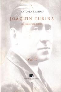 JOAQUIN TURINA II: portada