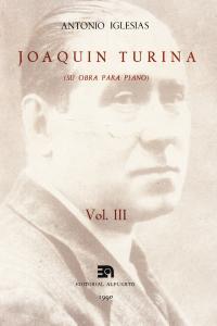 JOAQUIN TURINA III: portada