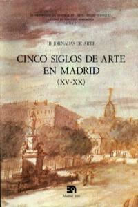 CINCO SIGLOS DE ARTE EN MADRID, III: portada
