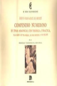 COMPENDIO NUMEROSO DE CIFRAS ARMONICAS PARA ARPA VOL. II: portada