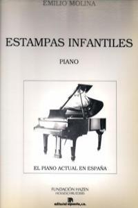 ESTAMPAS INFANTILES (PIANO): portada