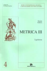 METRICA III (COLEC. M. RUANO): portada