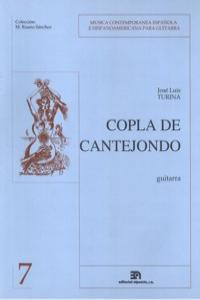 COPLA DE CANTEJONDO (COLEC. M. RUANO): portada