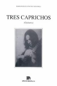 TRES CAPRICHOS: portada