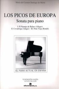 PICOS DE EUROPA,LOS (SONATA PARA PIANO): portada