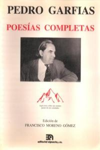 PEDRO GARFIAS POESIAS COMPLETAS: portada