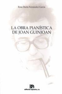 OBRA PIANISTICA DE JOAN GUINJOAN,LA: portada