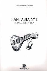 FANTASIA Nº 1 - PARA BANDURRIA SOLA: portada