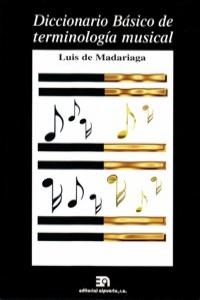 DICCIONARIO BASICO DE TERMINOLOGIA MUSICAL: portada