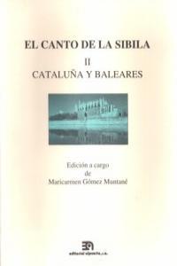 CANTO DE LA SIBILA,EL II - CATALUñA Y BALEARES: portada