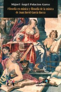 FILOSOFIA EN MUSICA Y FILOSOFIA DE MUSICA DE J.DAVID GARCIA: portada