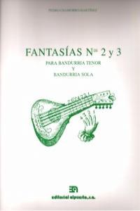 FANTASIAS Nº 2 Y 3 (PARA BANDURRIA TENOR Y BANDURRIA SOLA): portada