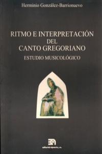 RITMO E INTERPRETACION DEL CANTO GREGORIANO: portada