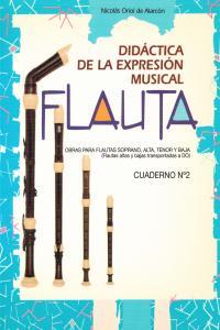 FLAUTA DIDACTICA DE LA EXPRESION MUSICAL - CUADERNO Nº 2: portada